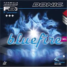 Rubber Donic Bluefire M1