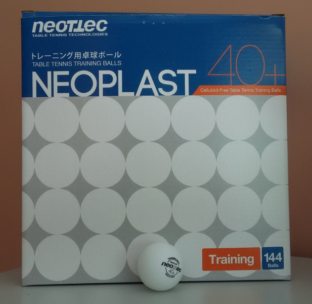 Balls Neotec New Generation 40+ (seam), 144 pcs